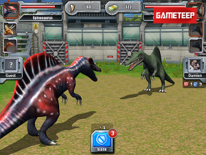 Jurassic Park Builder - New Dinosaur Texture 1