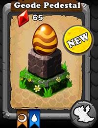 DragonVale Geode Dragon egg