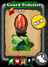 DragonVale Gourd Dragon egg