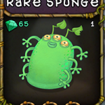 My Singing Monsters: Rare Spunge Monster