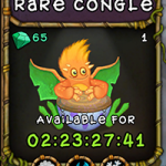 My Singing Monsters: Rare Congle Monster
