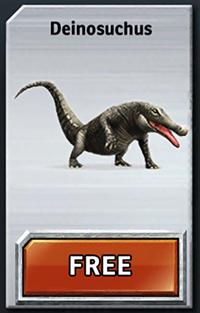 Jurassic Park Builder Deinosuchus