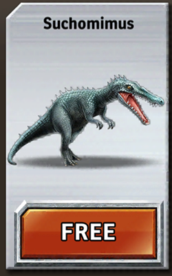 Jurassic Park Builder Suchomimus