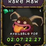 My Singing Monsters: Rare Maw Monster