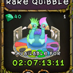 My Singing Monsters: Rare Quibble Monster