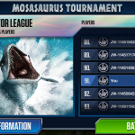 Mosasaurus Pack Now Available in Jurassic World: The Game