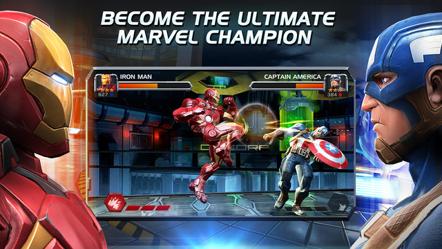 Marvel Contest of Champions - Civil War Update 3