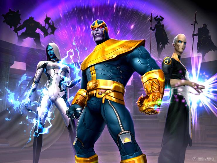 Marvel Future Fight - Civil War Thanos and Black Order
