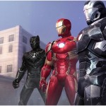 Marvel: Future Fight - New Civil War Team Iron Man Uniforms (Black Panther)