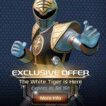 Power Rangers Legacy Wars Releases White Tiger Ranger